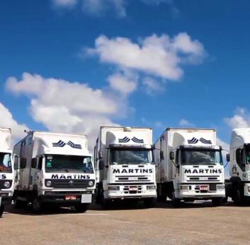 Frota de caminhões Sistema Martins